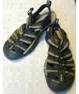 Keen Newport H2 Waterproof Fisherman Sandals Black Green 10011906 Mens S... - $38.69