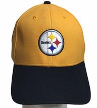 Pittsburgh Steelers Hat Kids Youth Adjustable Osfa Nfl Team Apparel - $17.77