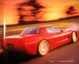 "1999 Chevy Corvette C5 Cutaway Poster 22 X 18"", Original GM  - $24.75"