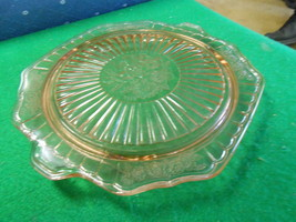 Beautiful Vintage PINK Depression Glass MAYFAIR Cake Plate-Footed.....SALE - $17.82