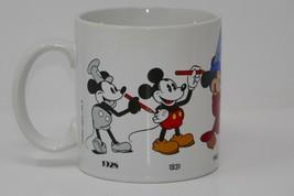 Applause Disney Mickey Mouse thru the Years 12 oz. Ceramic Mug - $9.49