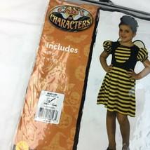 Cast Of Characters Girls Sz M 8 10 Bumblebee Costume Halloween Dress Up NIP - $11.38