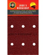 RYOBI S652DGK - 1/4 Sheet - 40 Grit - Pre-Punched - 5 Sanding Sheet Bundle - $7.49