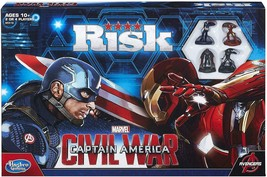 Risk: Captain America Civil War Edition Game  - New / Sealed - $39.98