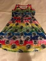 Girls Size Large LOL Vintage Rainbow Galaxy Kitty Cat Kittens Skater Dre... - $18.00