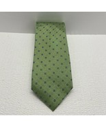 CHAPS MEN'S TIE, 100% SILK, GREEN, ACCESSORIES - $2.97