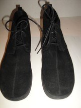 KEDS BLACK SUEDE ANKLE BOOT WOMENS SHOE SIZE 10 M - $25.99