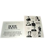 2 1999 BODY SHOTS Movie AD SLICKS 8x10 8.5x11 Advertising Promo Element ... - $9.99