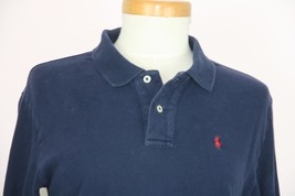 Polo By Ralph Lauren Youth Long Sleeve Dark Blue Shirt Size L - $18.69