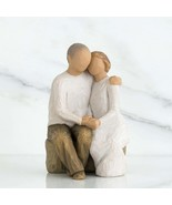Hand-Painted Cake Topper - Sculpted - Wedding Cake - Willow Tree Anniversary - £55.83 GBP