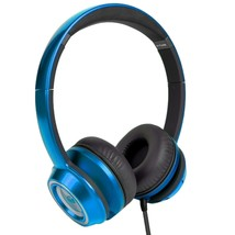Monster N-Tune High Performance On-Ear Headphones w/3.5mm Plug(Candy Blueberry) - $35.56