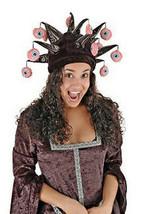 Terrorizzante Molto Cornuto Pendenti Bulbo Oculare Giullare Costume Capp... - €21,59 EUR