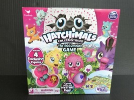 Hatchimals The EGGventure Game With 4 Exclusive Figures For Ages 5+ NEW - $12.99