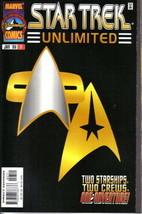 Star Trek Unlimited Comic Book #7 Marvel Comics 1998 NEAR MINT NEW UNREAD - $3.99