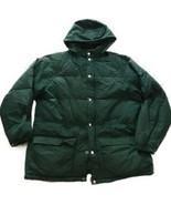 Vintage EMS Eastern Mountain Sport Puffer Coat Men XL Winter Hooded Jack... - $56.63