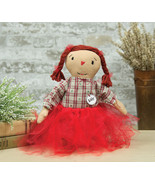 "Little Addy Rag Doll Primitive Style Cloth Dolly  12""  New - $24.00"
