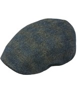Henschel Wool Blend Ivy League Driver Cap Plaid Pattern Cotton Lining Bl... - $50.00
