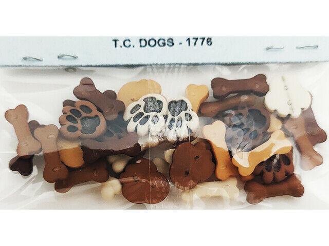 Dress It Up Tiny Dogs Embellishments, Flat Back #1776