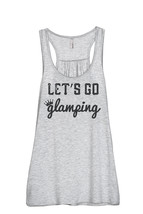Thread Tank Lets Go Glamping Women's Sleeveless Flowy Racerback Tank Top... - $24.99+