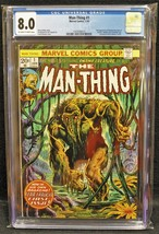 Man-Thing #1 (Marvel, 1974) CGC 8.0 - $79.20