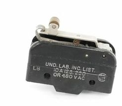HONEYWELL MICRO SWITCH BZ-RW922-A2 ROLLER LEVER LIMIT SWITCH, 10A, 125/250/480V image 3