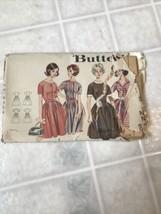 Vintage 1960's Misses' FULL-SKIRTED DRESS Pattern 2210 Size 10 - $10.39