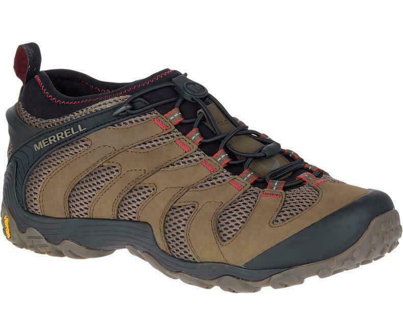 Merrell J12065 Chameleon 7 Stretch Boulder Men's Hiking Shoes SIZE 14 NEW IN BOX