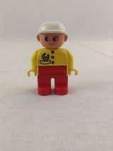 Lego Duplo Road Worker Mechanic Female Minifig Minifigure People Buildin... - $2.99