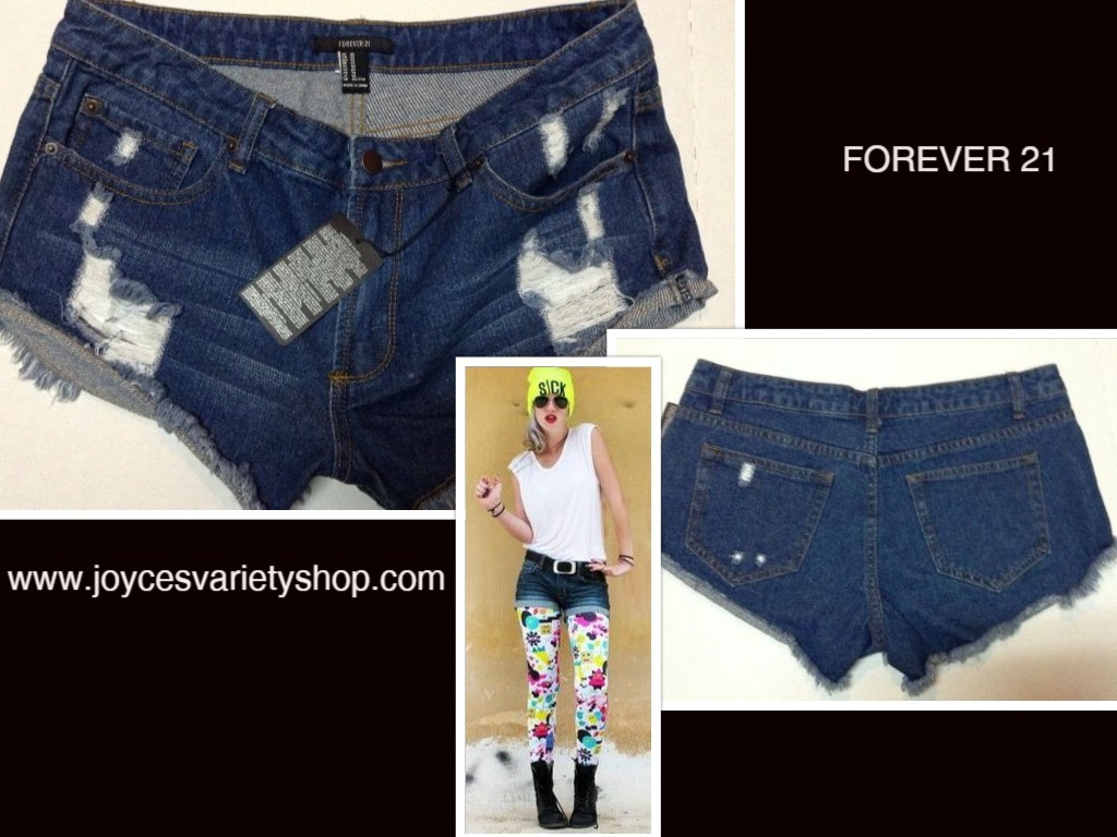 Forever 21 shorts web collage