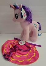 "Build A Bear My Little Pony 18"" Plush Starlight Glimmer Pink W/ Cape - $42.06"