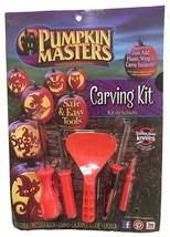 PUMPKIN MASTERS PUMPKIN CARVING KIT WITH TOOLS AND PATTERN BOOK  - £6.83 GBP