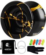 Professional Unresponsive Yoyo N11 Alloy Aluminum YoYo Ball Black With G... - $30.16