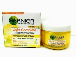 3 xGarnier Skin Natural Light Complete Fairness Cream spf 19 -40gm+BB cr... - $23.15