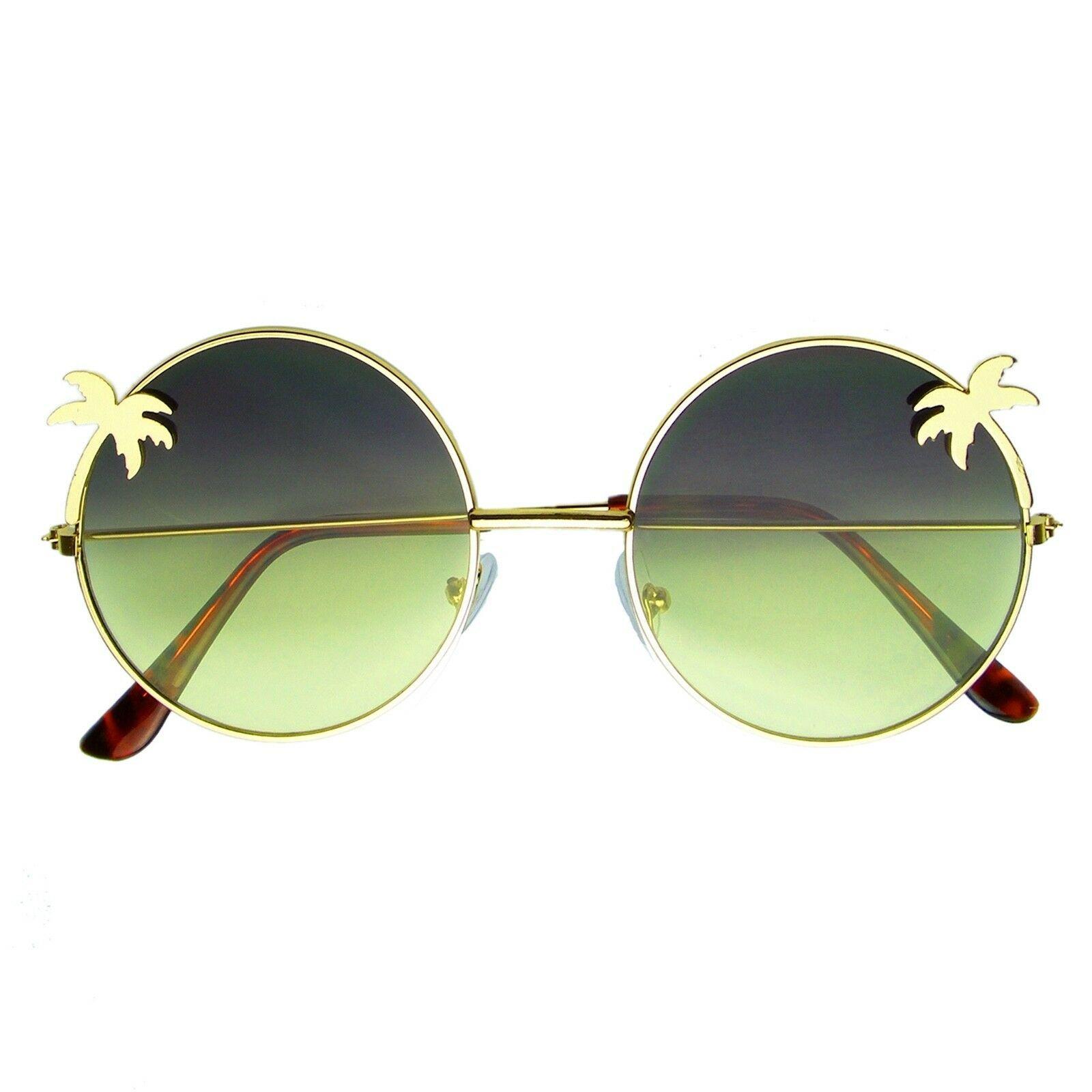Vintage Retro Round Sun Glasses Hippie Boho Sunglasses image 6