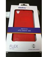 MetroPCS Phone Case for HTC Desire 530 Flex Gel case Red Valentines day ... - $12.86