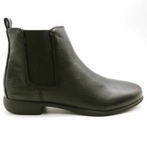 Aerosoles Womens Step Dance Chelsea Ankle Boots Black Leather Pull On 8 ... - $89.09