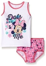 Disney para Niñas 'Minnie Mouse Ropa Interior y Camiseta de Tirantes Set - $29.20