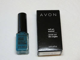 Avon Manicura Esmaltado Azul Vibe 6 ML 0.20 Fl oz Esmalte de Uñas Mani Pedi - $10.68