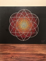 Sacred Geometry Painting  - $300.00