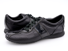 Cole Haan Womens 6B Grand OS Black Lace Up Round Toe Sneaker Athletic Shoes - $36.99