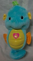 Fisher-Price Ocean Wonders Soothe And Glow Blue Seahorse Plush Stuffed Animal - $19.80