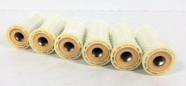 6 Large HOT ROLLERS Clairol Kindness Deluxe 3 Way Hairsetter Peach REPLA... - $14.84