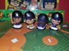 COLORADO ROCKIES MLB TEENYMATES FIGURE SET TEAM SET! HARD TO GET!!! - $17.28
