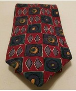 100% Handsewn Silk Robert Talbott Studio Paul Simon Tribal Geometric Tie... - $9.70