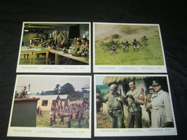 Original DIRTY DOZEN Rare 8x10 Lobby Cards LEE MARVIN - $244.99