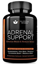 Adrenal Support - Natural Adrenal Fatigue Supplements, Cortisol Manager with Ash