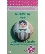 Matryoshka #8 Needleminder fabric cross stitch ... - $7.00