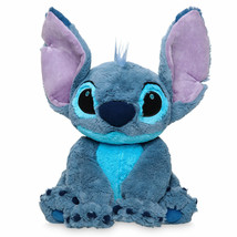 "Disney Lilo And Stitch 15"" Stitch Medium Plush Toy New With Tags - $26.42"