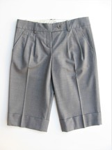 Dress Shorts Bermuda Shorts BCBG Max Azria Daryl Grey Office Shorts 2 $178 - $25.74
