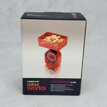 Farberware Colourworks Red analog Kitchen Food Scale Diet Health 16oz 500g - $10.69
